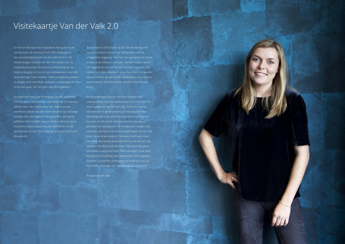 New Destinations (KLM) Magazine - Annabel van der Valk